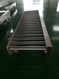 Marcação da correia superior do rolete Curved executando o transportador de corrente para a indústria alimentar