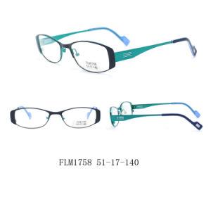 Reputação sólida óculos de leitura de injeção de plástico com Itália Design (FLM1758)