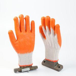 С покрытием из латекса рабочие перчатки для тяжелого режима работы