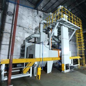기계 전처리 선 탄 폭파 기계를 정리하고 그리는 자동적인 강철 플레이트 또는 장은 또는 시스템 또는 탄 돌풍 기계를 Shotblast