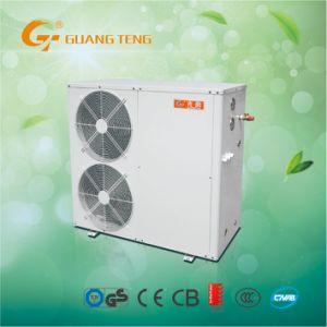 Control inteligente de la bomba de calor de aire para uso doméstico 3 en 1 Sistema de calefacción (refrigeración + + Agua caliente) Gt-Skr025HH-10