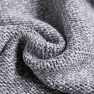 Fashion Acrylic Kntted Winter女性フード付きのプルオーバーのセーター(YKY2134)