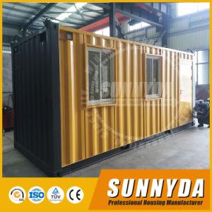 Nueva llegada modulares prefabricados Contenedor de vida de la casa de diseño (SU-C120)