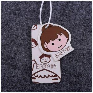 El cartón colgar prendas de vestir ropa Accesorios Hangtag de etiqueta con Logo