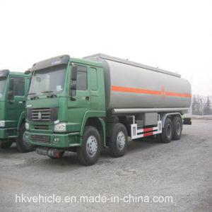 De Olietanker van Sinotruck 8*4 25m3 Met Chassis HOWO 371HP