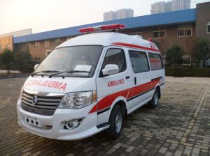 이동 판매 Msljh28L를 위한 비상사태 ICU 구급차 차 또는 구급차