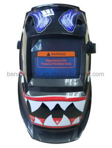 太陽エネルギーTIGの自動暗くなる溶接のヘルメット(BSW-001-7B)
