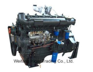 6本のシリンダー直接注入のWeichaiのタイプ132kwの水によって冷却される1500rpm/1800rpmディーゼル機関