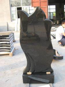 Chinesischer Granit-Grundstein und Finanzanzeige mit Engels-Inner-Entwurf