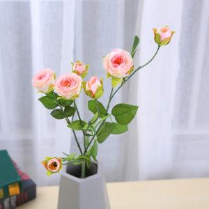 Новый дом в стиле роз дикой стороной отель декор искусственный шелк цветок