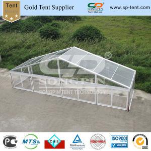 Transparentes Festzelt-Hochzeits-Ereignis-Zelt mit freier Wand