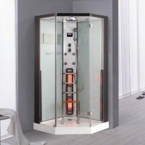 Vidrio templado Sauna de Vapor de infrarrojos (Leyenda K083)