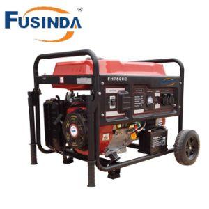 6kw de lucht koelde de Reeksen van de Generator van de Benzine met de Uitrusting van het Handvat & van het Wiel