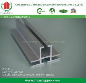 Doppia espulsione parteggiata dell'alluminio di Frameless del tessuto di Kd 40-3
