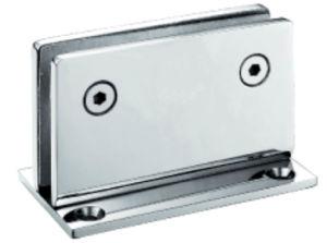 90 graus de dobradiça de porta de vidro do chuveiro de latão (FS-312)