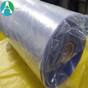 淡いブルーの色合いが付いている堅いプラスチックゆとりPVCフィルム