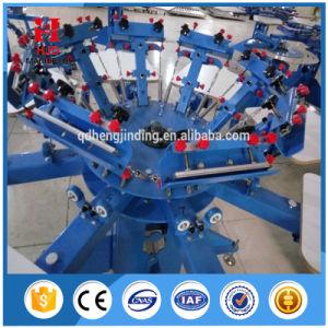 기계를 인쇄하는 수동 탁상용 t-셔츠 스크린