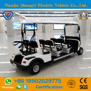 Aprovado pela CE 6 Seaters Electric carrinho de golfe
