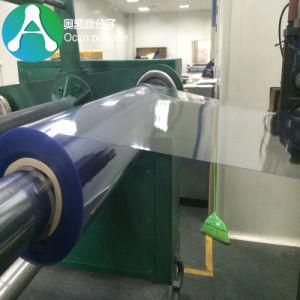 0,25mm 610mm de ancho Rollo de PVC transparente para el Vacío formando