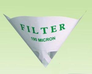 Fabbrica Sell Disposable Nylon Mesh Paint Strainer con Logo Printing 190micron