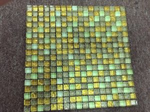 De Tegels van het Mozaïek van het glas voor de Decoratie van de Muur