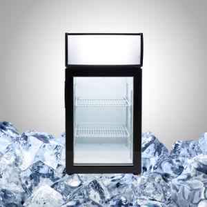 凍結する商品のためのカウンタートップのフリーザーのマーチャンダイザー