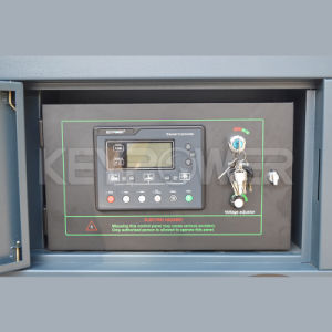 Бесшумный дизельный генератор 25 ква звукоизоляцией и водонепроницаемый генератор с дизельным двигателем мощности генератора