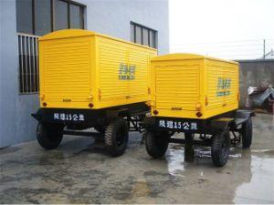 Ce ISO Certificated 10kw-500kw Diesel Motor Generator Set voor Weather Soundproof Silent Type met Wheels Trailer