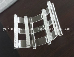 Appearance piacevole Transparent Quartz Boat per Semiconductor Used