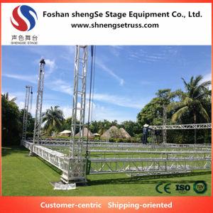 Etapa Shengse Venta caliente de tamaño medio, 350mm*350mm cuadrados diferente comportamiento de la armadura de espiga de aluminio