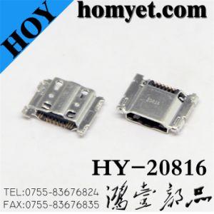 Base de carga Sumsung conector micro USB para teléfono móvil las piezas (HY-20816)