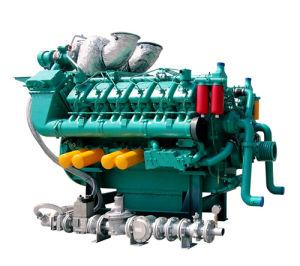 디젤/가스 혼합 연료 엔진 발전기