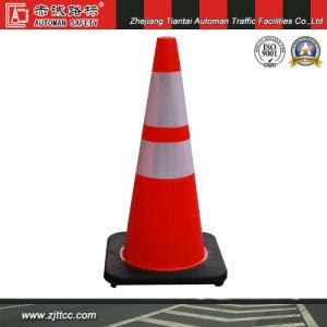 """28"""" en PVC souple noir avec cône de la sécurité du trafic de base (CC-PV70)"""