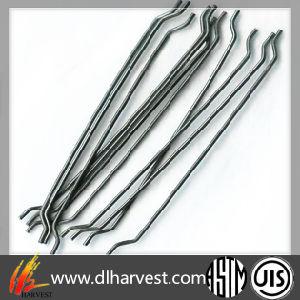 Novo material de construção de alta resistência à tracção de fibras de aço para betão