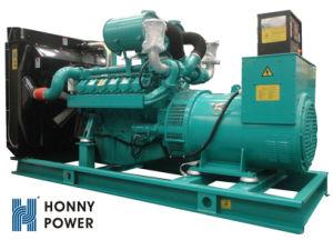 600kw 750kVA mistura de diesel do gerador de gás 60Hz 1800rpm