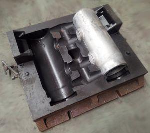 moldeado a presión con los moldes de aluminio colado reutilizables.