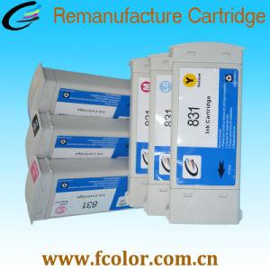 775ml HP831乳液のインクカートリッジのためのRemanufacturedインクカートリッジ