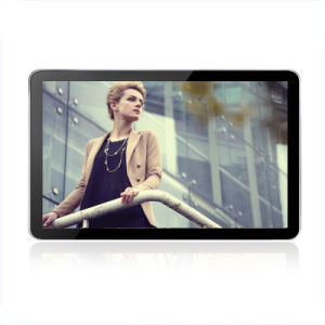 디지털 Signage 간이 건축물을 광고하는 관례 (LCD 디스플레이가 180 도에 의하여 자전한다)