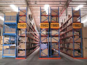 Entrepôt de stockage ajustable de haute qualité palettier (VNA)
