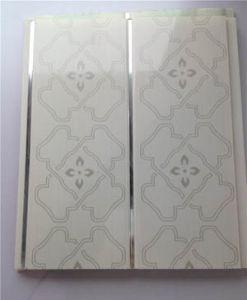 Het decoratieve Plastic Comité van de Muur van het Plafond van pvc van het Ontwerp van Bladen Marmeren