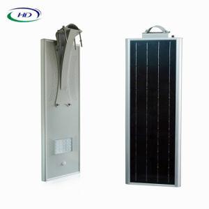 Ce y certificado de RoHS 18W PIR Sensor Integrado LED Solar Garden / Street Light