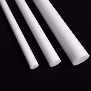 Aangepaste de Teflon PTFE duwde de Plastic Staaf van de Staaf van de Staaf PTFE van Producten Zuivere