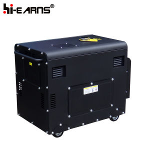 generatore raffreddato ad aria diesel del gruppo elettrogeno 2-10kw (DG6500SE)