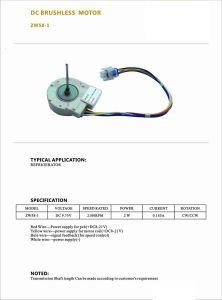 Baja velocidad de la máquina de husillo DC Motor sin escobillas de Micro para los aviones teledirigidos/cargador/Maquinaria Textil