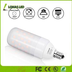 Lâmpada de iluminação de forma T T10 E26 9W Lâmpada LED leitosa de Milho