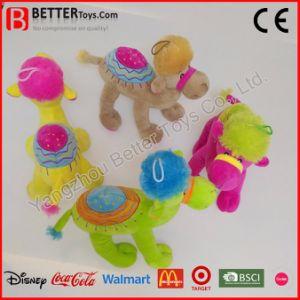 Giocattolo molle su ordinazione del cammello dell'animale farcito della peluche per la promozione