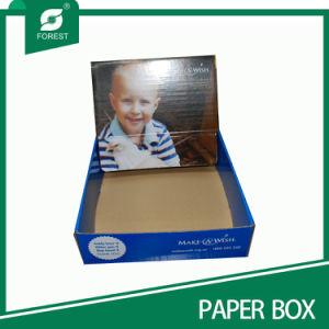 Moda fabricante de papel impreso el logotipo personalizado Expositor