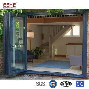 El apilamiento de vidrio aluminio corredizas multifuncional de la puerta de entrada para wholesales