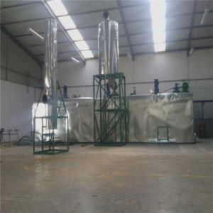 Máquina de reciclaje de aceite de motor usado en China purificador aceite