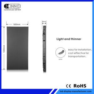 P3.13mm haute définition écran LED RVB à l'intérieur